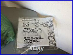 1981# Vintage G1 Ultra Rare First Version Mattel Grayskull Castle Castello
