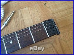 1986 Hohner G2 Headless guitar First Edition Ultra Rare with adapter