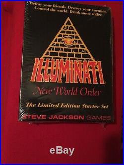 1994 Illuminati New World Order Card Game ULTRA RARE FIRST EDITION Large Starter