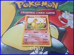 1995 Charmander (Glumanda) Original Pokémon Card Base 1. Edition Set 46/102 MINT