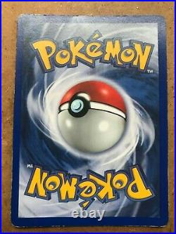 1999 Pokemon 1st Edition, Blastoise Shadowless (Thick Stamp)
