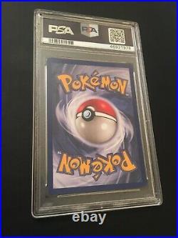 1ST EDITION Mewtu PSA 9 MINT Holo Rare Base Set Pokémon Card Mewtwo WOTC 10/102