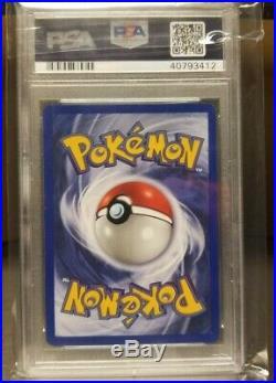 1st Edition First Ed RAICHU 14/102 Ultra Rare Holo Base Set Pokemon Card PSA 7