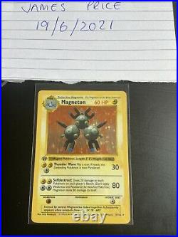 1st Edition Shadowless Holo Near Complete Set 13/16