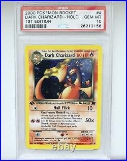 2000 Pokemon Rocket Charizard Holo 1st Edition PSA 10 GEM MINT
