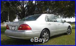 2002 Lexus LS Base 4dr Sedan