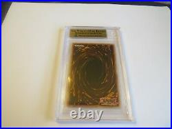 2003 Yugioh Magicians Force Dark Magician Girl 1st Edition Bgs 9.5 Gem Mint
