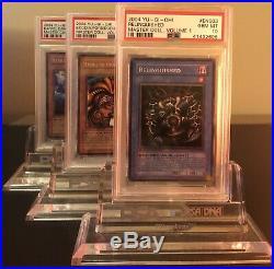 2004 Psa 10 Yugioh Limited Edition Secret Rare Master Set Volume 1 Exodia