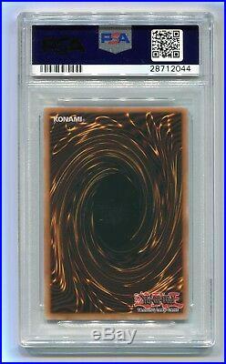 2004 Yu-Gi-Oh 1st Edition Dark Magician of Chaos IOC-065 Ultra Rare PSA 9 MINT