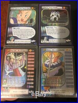 4/4 Limited Edition Trunks Saga Ultra Rare Lot DBZ CCG Goku The Unbeatable Lv 4