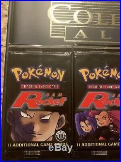 4 Pokémon 1st Edition Team Rocket Booster Pack Set From Z&GEmporium! Sealed
