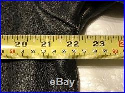 AFFLICTION Shredded Skulls Leather Jacket Ultra Rare Limited Edition Mens Large