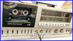 Akai Gx-f95 3 Heads Ultra Rare 2 Doors Version Deck Serviced Pristine Condition