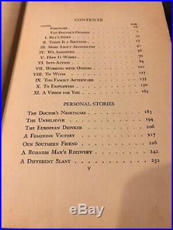 Alcoholics Anonymous First Edition First Printing April 1939 / Ultra Rare