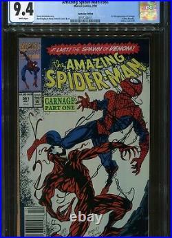 Amazing Spider-Man#361 CGC 9.4 Ultra Rare AUSTRALIAN PRICE VARIANT NEWSSTAND ED