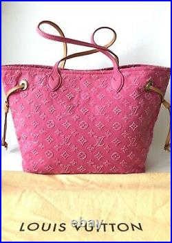 Authentic ULTRA RARE Louis Vuitton Neverfull Limited edition bag