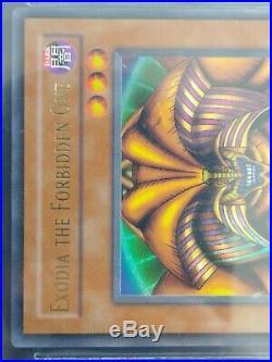 BGS 9.5 GEM MINT Exodia the Forbidden One (LOB-124) 1st edition ultra rare
