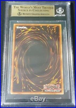 BGS 9.5 GEM MINT wavy print Red-Eyes B. Dragon (LOB-070) 1st edition ultra