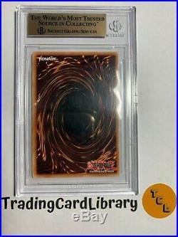 BGS 9.5 Yugioh Dark Magician LOB-A005 1st EDITION Ultra Rare AUS
