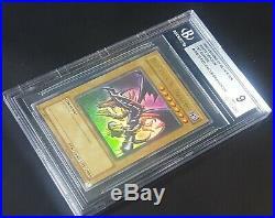 BGS 9 (MINT) Red-Eyes B. Dragon (LOB-070) 1st edition, ultra rare