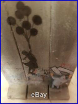 Banksy Girl With Balloons Walled Off Hotel ULTRA RARE from 1st Edition