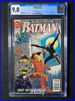 Batman #457 CGC 9.0 (1990) Newstand Edition/Second Printing ULTRA RARE
