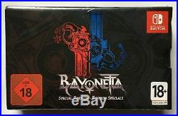 Bayonetta 2 Special Edition (Nintendo Switch) Factory Sealed Ultra Rare NEW