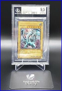 Blue Eyes White Dragon 1st Edition LOB BGS9,5++GemMint Wavy North American Print