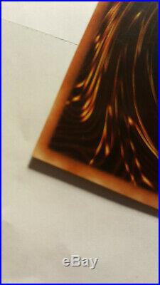 Blue-Eyes White Dragon LOB-001 1st Edition (NA) Near Mint NM+ (foil off center)