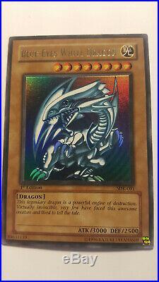Blue-Eyes White Dragon SDK-001 1st Edition (North American) Near Mint NM