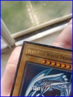 Blue-Eyes White Dragon (SDK-001) 1st Edition Ultra Rare NA print VLP-NM COND
