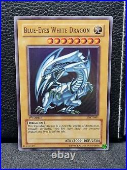 Blue-Eyes White Dragon SDK-E001 1st edition