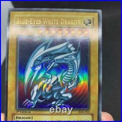 Blue Eyes White Dragon Ultra Rare SDK-001 1st Edition Good English JAPAN rare