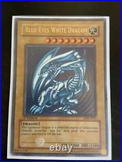 Blue-eyes White Dragon SDK-E001 1st Edition Perfect condition