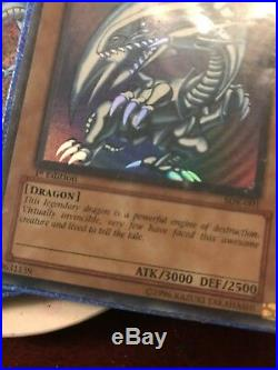 Blue-eyes white dragon sdk-001 1st edition