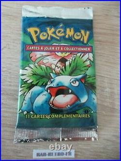 Booster Pokemon 1st Edition Set de base french florizarre sealed