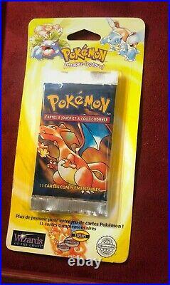Booster Pokémon Set De Base Édition 1 Dracaufeu / Charizard scellé neuf