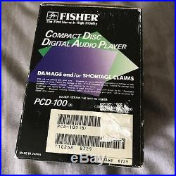 Brand New in Box Vintage Fisher PCD 100. 50th Anniversary Edition. ULTRA RARE