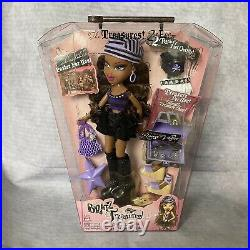Bratz Treasures Sasha Ultra Rare Doll BNIB Treasures 2nd Edition