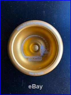 BrokenYoYos Sumo Italian Made Ultra Rare yo-yo Gold EYYC 2007 Edition Proto