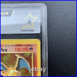 Carte Pokemon Dravaufeu 4/102 Edition 1 PCA FR HOLO Charizard Wizards 1999