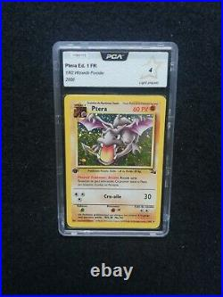 Carte Pokemon Ptera 1/62 Édition 1 Fossile Wizards Holo FR PCA