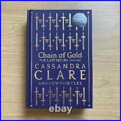 Chain of Gold by Cassandra Clare SIGNED WATERSTONES SPECIAL EDITION ULTRA RARE