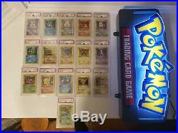 Complete 16 Holo 1st Edition Shadowless Psa 8, 8.5, 9 1999 Wotc