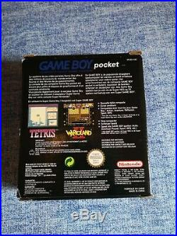 Console Nintendo Game Boy Pocket Pal Limited Edition Thomas & betts ultra rare