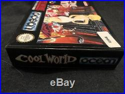 Cool World Snes PAL ESP Version! Ultra Rare And Awesome Condition