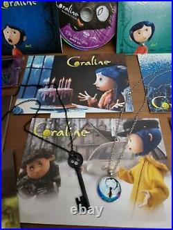Coraline ULTRA RARE ITEM LIMITED EDITION GIFT SET. 2 DISC BLU-RAY BOX SET