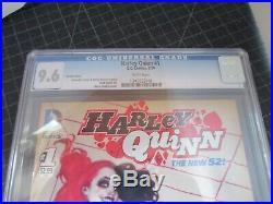 DC New 52 Harley Quinn #1 Adam Hughes Cover Variant Cgc 9.6 Ultra Rare