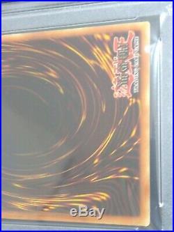 DOUBLE MISPRINT Dark Magician LOB-005 1st edition glossy PSA 9 MINT