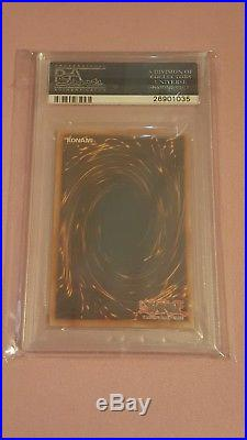 Dark Magician of Chaos 1st Edition Invasion of Chaos PSA 9 Mint Yugioh Card